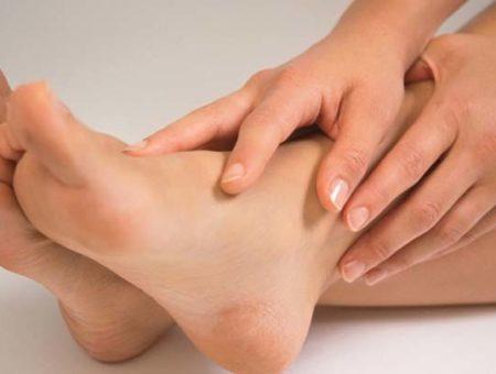 El calor y la congestión de piernas